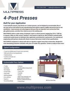 11-002 V0320 MP 4-Post-Presses